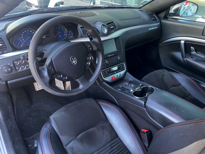 Maserati GranTurismo S V8 4.7 F1 BVR 440 CV - MONACO Noir Métal - 6