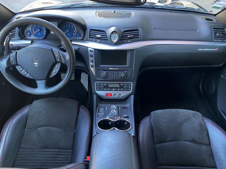Maserati GranTurismo S V8 4.7 F1 BVR 440 CV - MONACO Noir Métal - 8