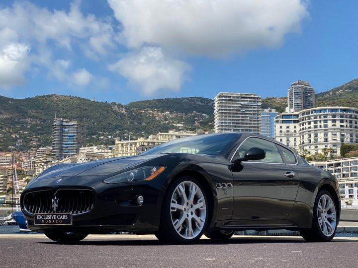 Maserati GranTurismo S V8 4.7 F1 BVR 440 CV - MONACO Noir Métal - 12