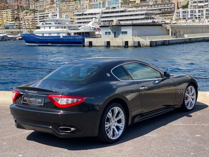 Maserati GranTurismo S V8 4.7 F1 BVR 440 CV - MONACO Noir Métal - 13