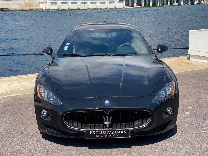 Maserati GranTurismo S V8 4.7 F1 BVR 440 CV - MONACO Noir Métal - 15