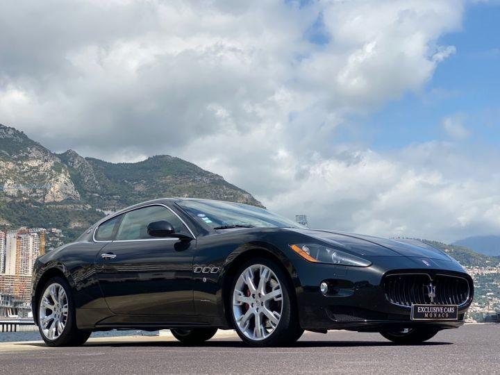Maserati GranTurismo S V8 4.7 F1 BVR 440 CV - MONACO Noir Métal - 17