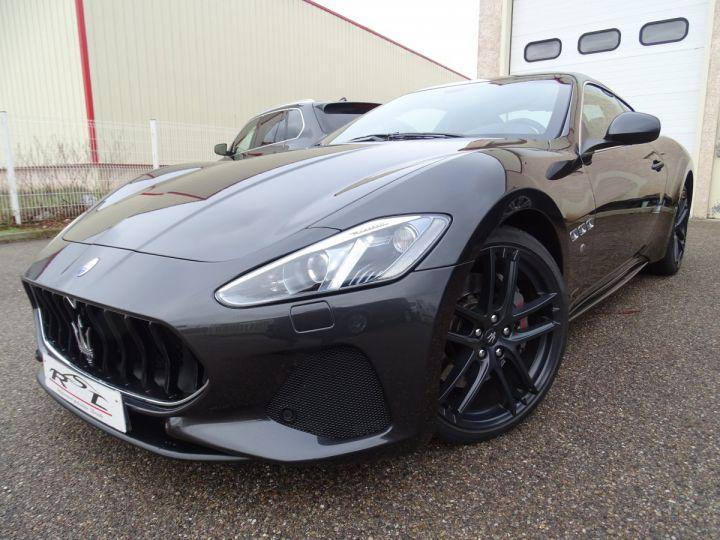 Maserati GranTurismo SPORT 4.7L 460 Ps BVA ZF FACE LIFT /GPS Tactile  Jantes 20  Echappement Sport  LED Harman Kardon gris anthracite métallisé - 1
