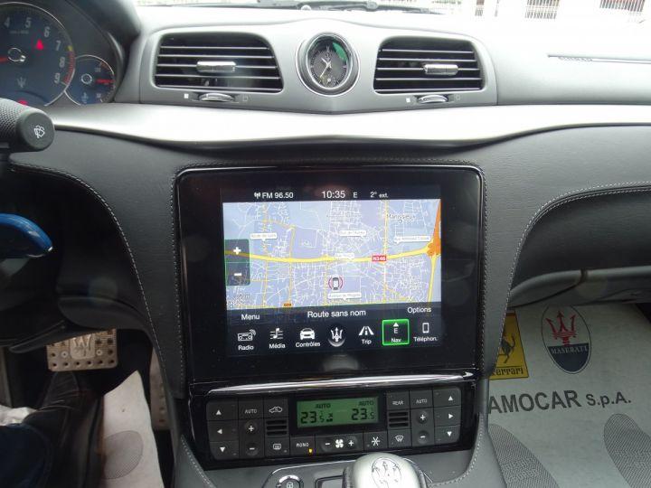 Maserati GranTurismo SPORT 4.7L 460 Ps BVA ZF FACE LIFT /GPS Tactile  Jantes 20  Echappement Sport  LED Harman Kardon gris anthracite métallisé - 14