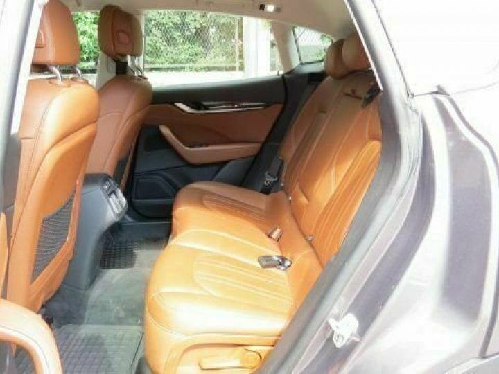 Maserati Levante Diesel 3.0 V6 Turbo 275 GranSport / GPS / BLUETOOTH / GARANTIE 12 MOIS Gris métallisée  - 11