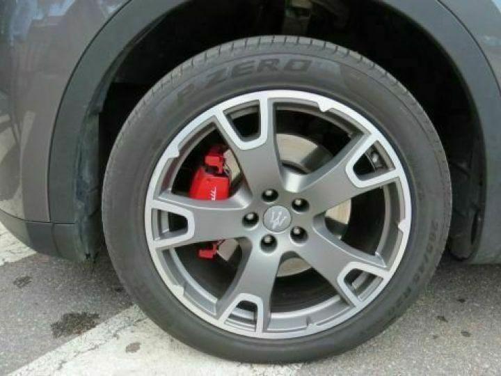 Maserati Levante Diesel 3.0 V6 Turbo 275 GranSport / GPS / BLUETOOTH / GARANTIE 12 MOIS Gris métallisée  - 13