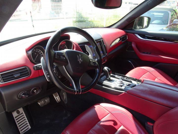 Maserati Levante LEVANTE S Gransport SQ4 3.0L V6 430Ps/Echap Sport  Jts 21  Harman Kardon  LED  gris anthracite métallisé - 10