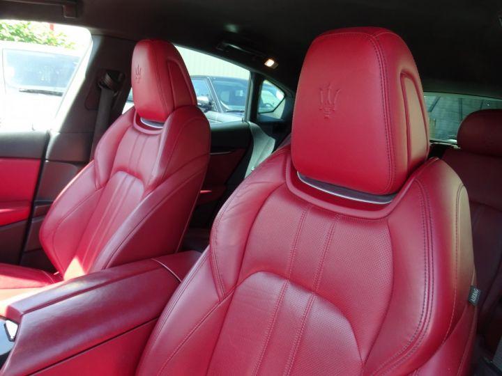 Maserati Levante LEVANTE S Gransport SQ4 3.0L V6 430Ps/Echap Sport  Jts 21  Harman Kardon  LED  gris anthracite métallisé - 13