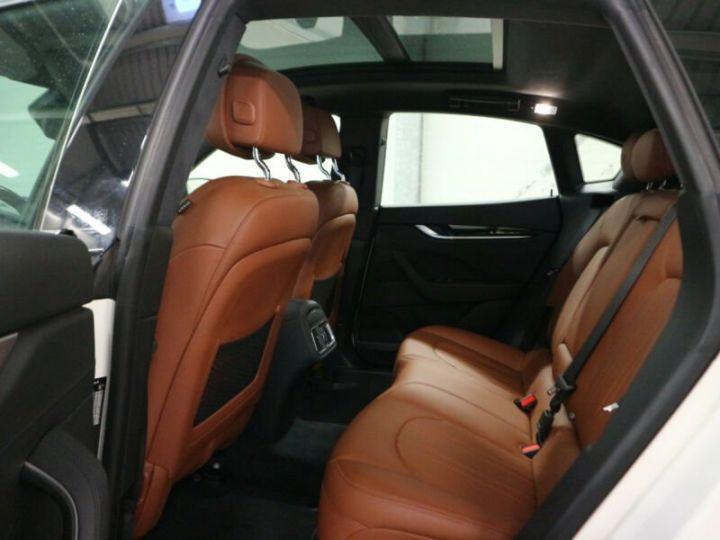 Maserati Levante Maserati Levante 3.0 V6 Bi-Turbo 430 S Q4/1ere Main//Toit Panoramique/Garantie 12 Mois Blanc - 6