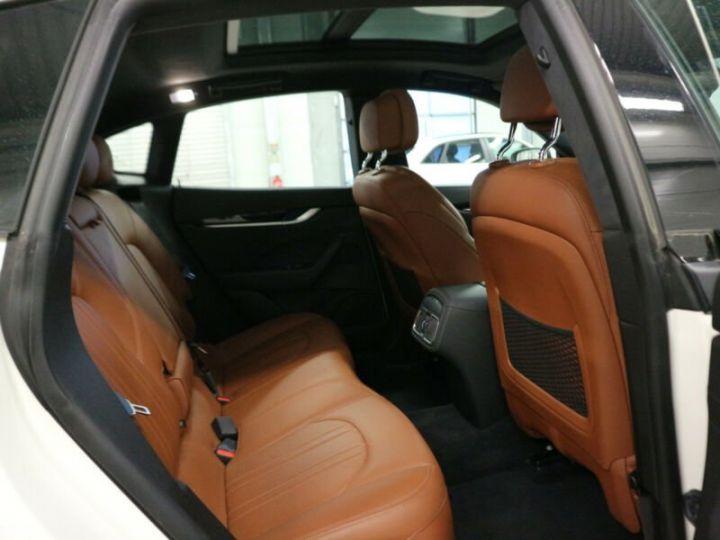 Maserati Levante Maserati Levante 3.0 V6 Bi-Turbo 430 S Q4/1ere Main//Toit Panoramique/Garantie 12 Mois Blanc - 7