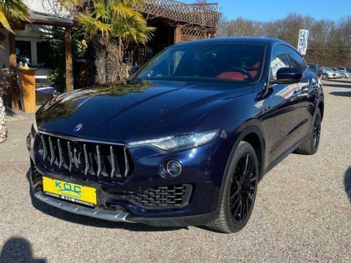 Maserati Levante  MASERATI LEVANTE V6 Diesel 275 cv Garantie 12 Mois  Bleu - 1