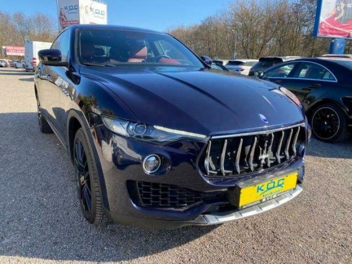 Maserati Levante  MASERATI LEVANTE V6 Diesel 275 cv Garantie 12 Mois  Bleu - 2