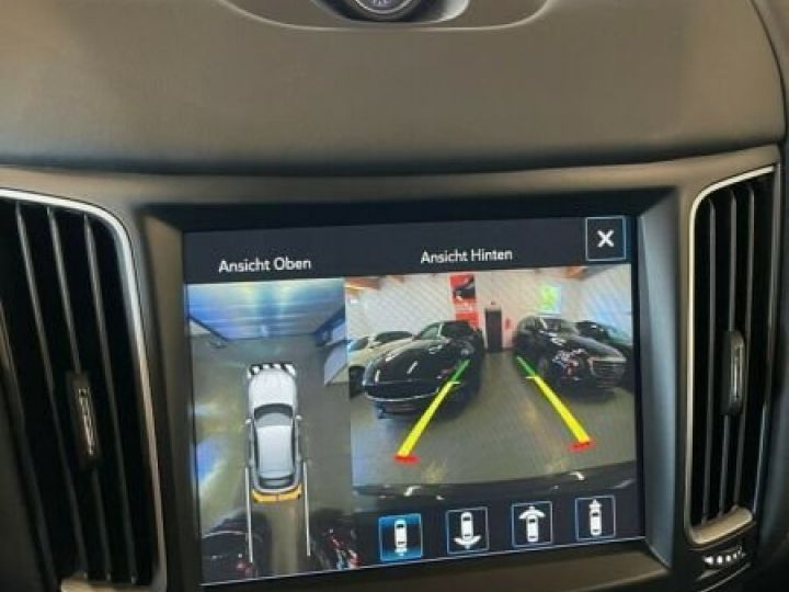 Maserati Levante Maserati Levante V6 Diesel 275 cv / Pano / K360° / KeyGO / HarmanK Garantie 12 Mois Gris  - 10
