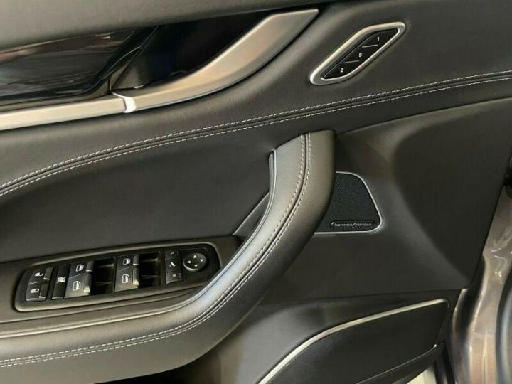 Maserati Levante Maserati Levante V6 Diesel 275 cv / Pano / K360° / KeyGO / HarmanK Garantie 12 Mois Gris  - 11
