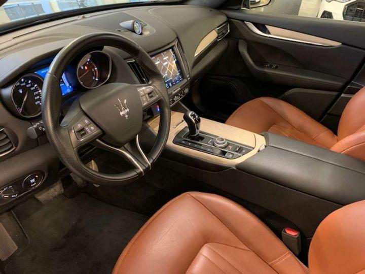 Maserati Levante Maserati Levante V6 Diesel 275 CV/ Toit ouvrant/Garantie 12 Mois Gris  - 8