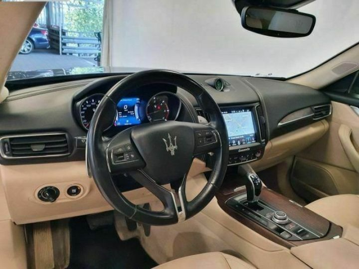 Maserati Levante Maserati MASERATI Levante 275CV Gransport Toit ouvrant Garantie 12 Mois   Bleu - 8