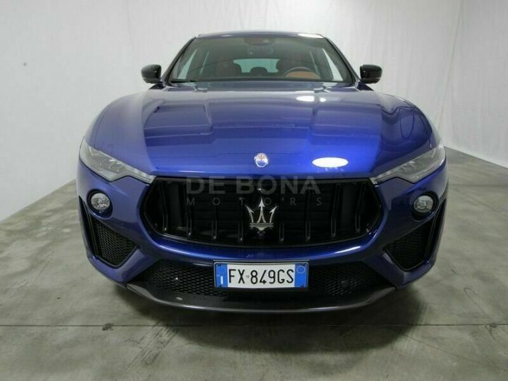 Maserati Levante Maserati Maserati Levante 3.8 v8 trofeo 580cv * MALUS INCLUS *  bleu - 1