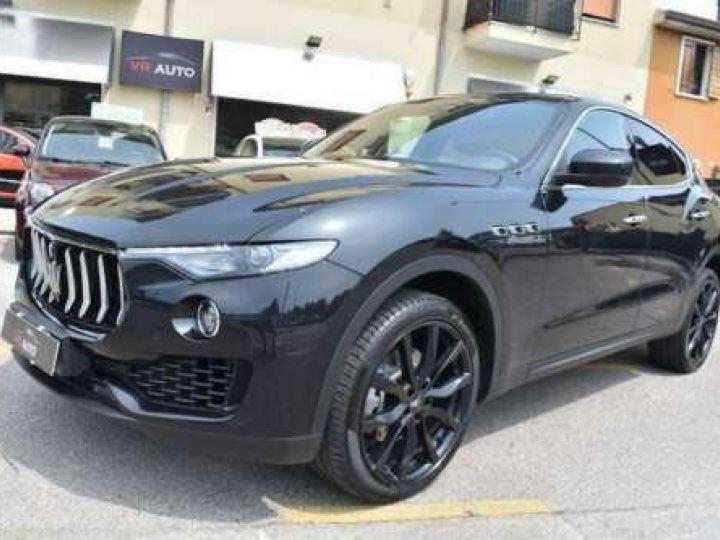 Maserati Levante  V6 Diesel 275 CV AWD FULL OPTION / GPS / TOIT OUVRANT / GARANTIE 12 MOIS Noir métallisée  - 1