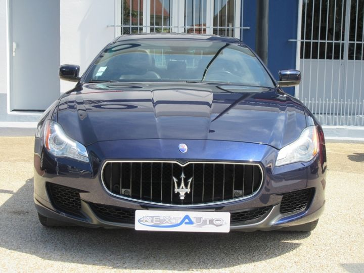 Maserati Quattroporte 3.0 V6 410CH S Q4 Bleu Nuit Occasion - 6