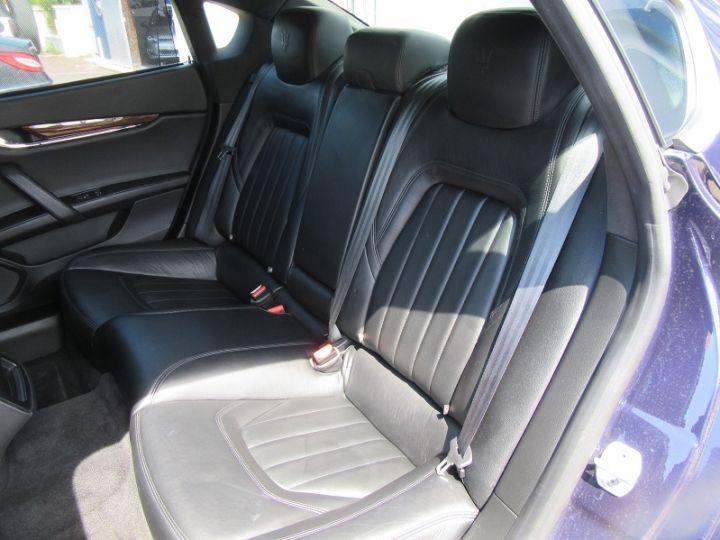 Maserati Quattroporte 3.0 V6 410CH S Q4 Bleu Nuit Occasion - 9