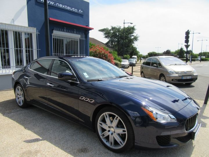 Maserati Quattroporte 3.0 V6 410CH S Q4 Bleu Nuit Occasion - 20