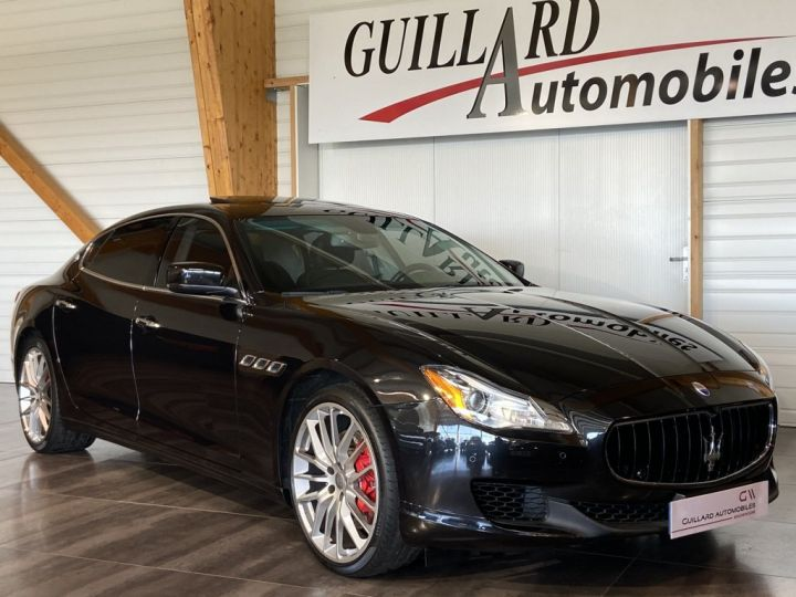 Maserati Quattroporte 3.0 V6 BI-TURBO S Q4 410ch BVA8 NOIR - 5