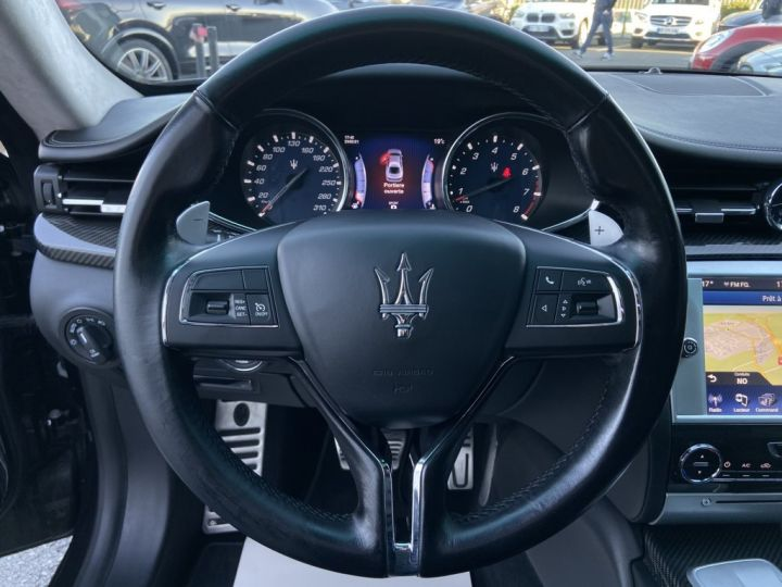 Maserati Quattroporte 3.0 V6 BI-TURBO S Q4 410ch BVA8 NOIR - 21