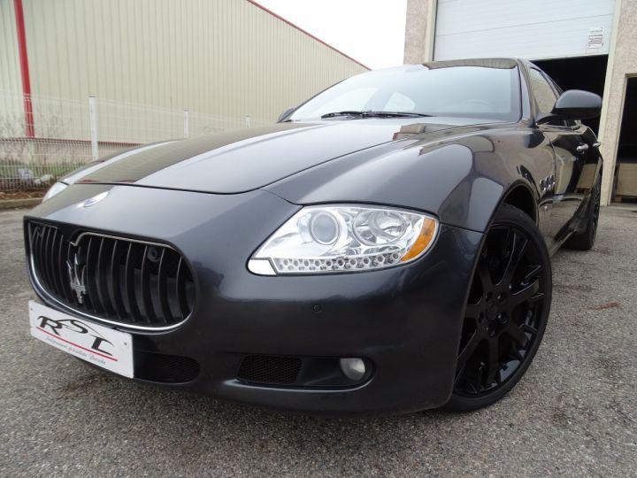 Maserati Quattroporte 4.2L 400Ch Phase 2 BVA ZF/ Full options Echappement Sport  Toe Palettes au volant .... gris anthracite métallisé - 1