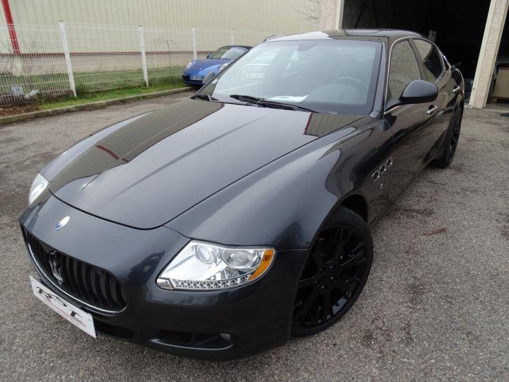 Maserati Quattroporte 4.2L 400Ch Phase 2 BVA ZF/ Full options Echappement Sport  Toe Palettes au volant .... gris anthracite métallisé - 3