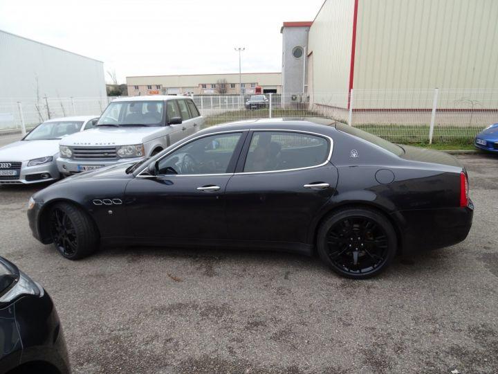 Maserati Quattroporte 4.2L 400Ch Phase 2 BVA ZF/ Full options Echappement Sport  Toe Palettes au volant .... gris anthracite métallisé - 4