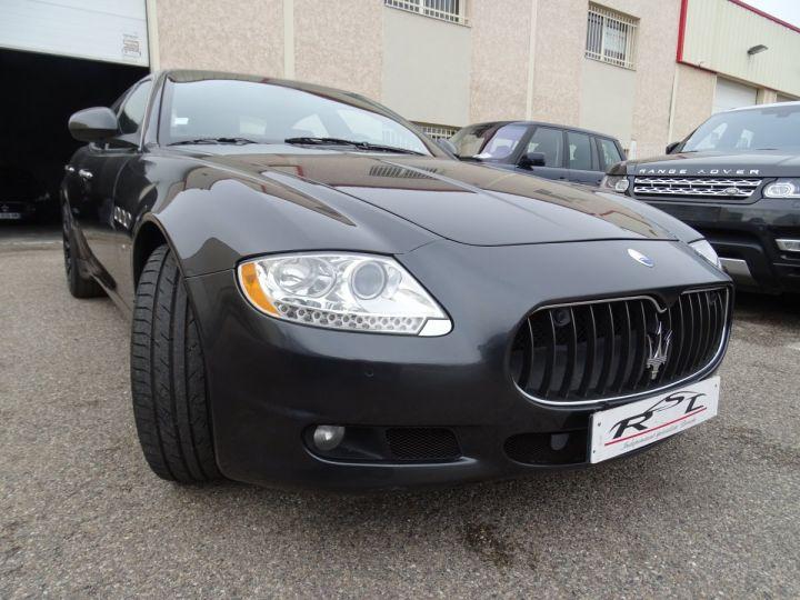 Maserati Quattroporte 4.2L 400Ch Phase 2 BVA ZF/ Full options Echappement Sport  Toe Palettes au volant .... gris anthracite métallisé - 5