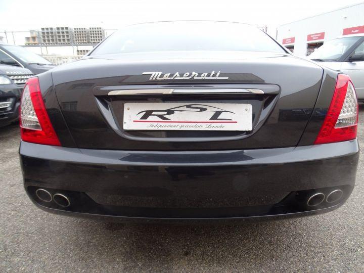 Maserati Quattroporte 4.2L 400Ch Phase 2 BVA ZF/ Full options Echappement Sport  Toe Palettes au volant .... gris anthracite métallisé - 8