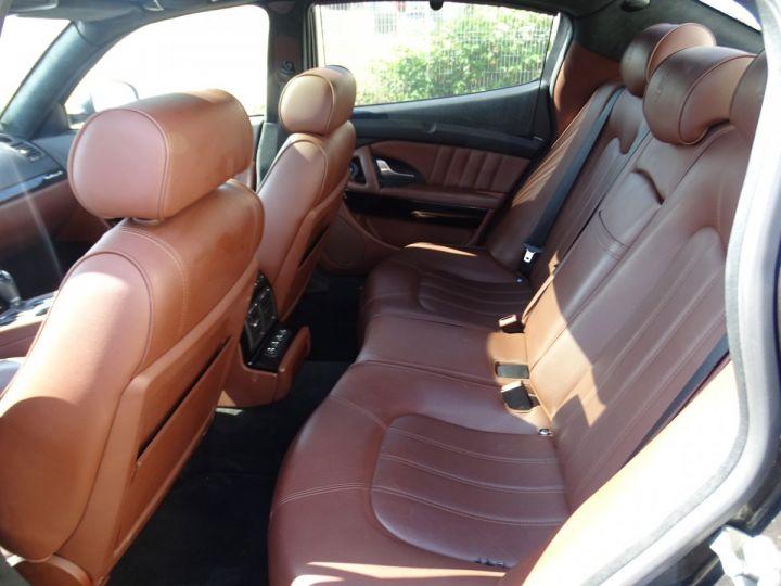 Maserati Quattroporte 4.2L 400Ch Phase 2 BVA ZF/ Full options Echappement Sport  Toe Palettes au volant .... gris anthracite métallisé - 16