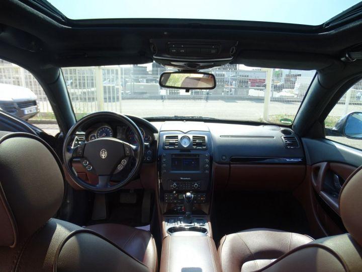 Maserati Quattroporte 4.2L 400Ch Phase 2 BVA ZF/ Full options Echappement Sport  Toe Palettes au volant .... gris anthracite métallisé - 18