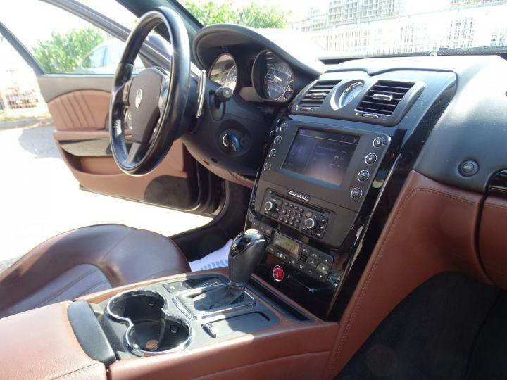 Maserati Quattroporte 4.2L 400Ch Phase 2 BVA ZF/ Full options Echappement Sport  Toe Palettes au volant .... gris anthracite métallisé - 20