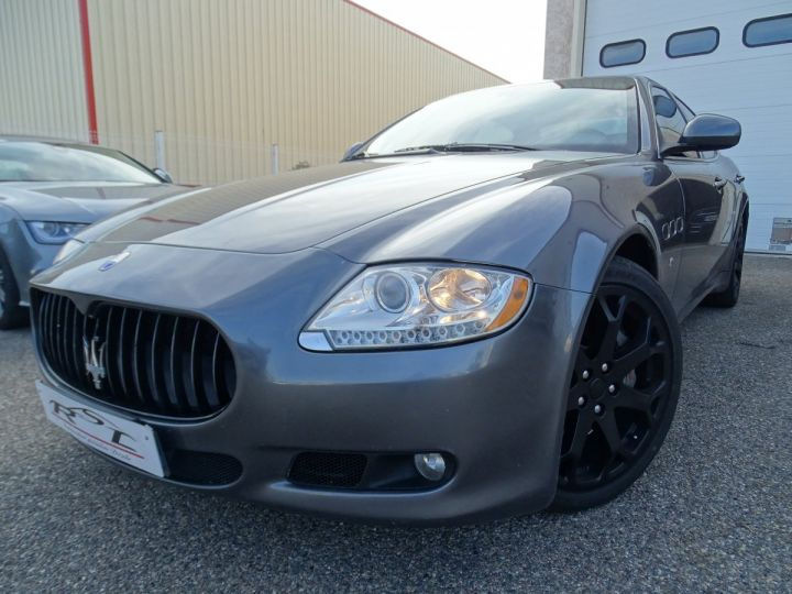 Maserati Quattroporte 4.7L 430PS BVA ZF / FULL Options gris anthracite métallisé - 1