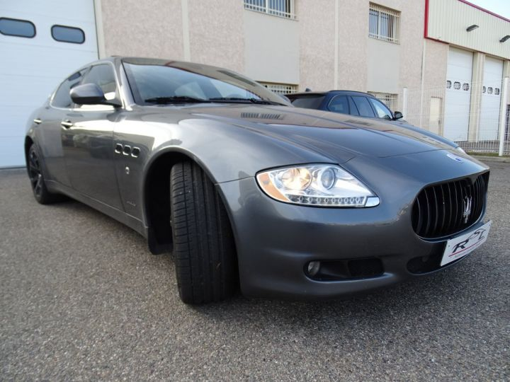 Maserati Quattroporte 4.7L 430PS BVA ZF / FULL Options gris anthracite métallisé - 5