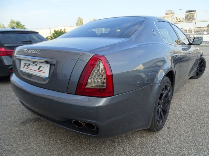 Maserati Quattroporte 4.7L 430PS BVA ZF / FULL Options gris anthracite métallisé - 6