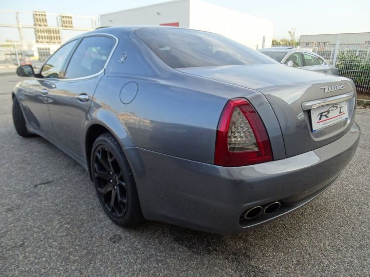 Maserati Quattroporte 4.7L 430PS BVA ZF / FULL Options gris anthracite métallisé - 8