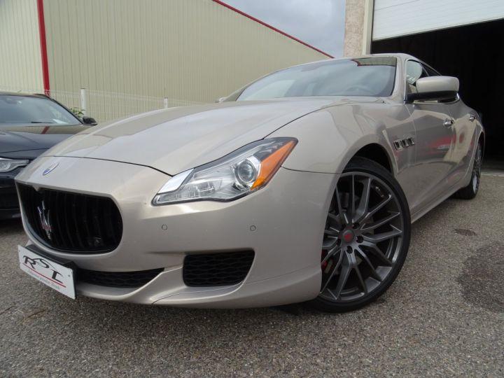 Maserati Quattroporte GTS V8 3.8L 530PS / FULL OPTIONS argent met - 1