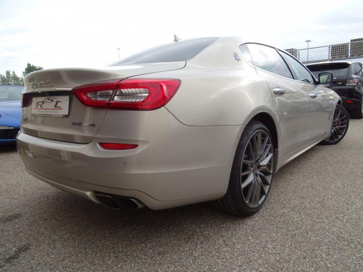 Maserati Quattroporte GTS V8 3.8L 530PS / FULL OPTIONS argent met - 7