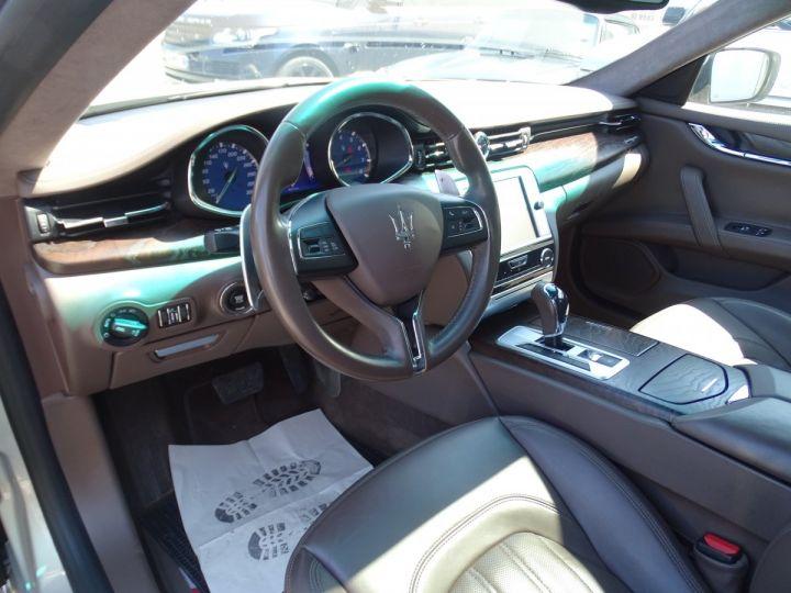Maserati Quattroporte GTS V8 3.8L 530PS / FULL OPTIONS argent met - 8