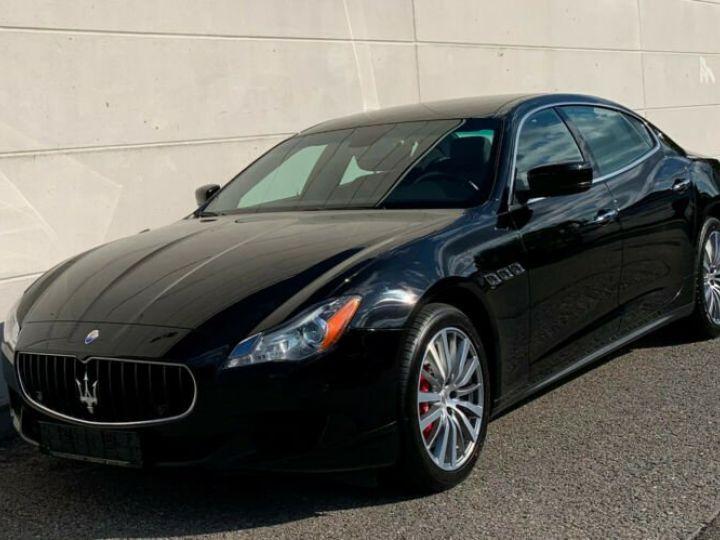 Maserati Quattroporte # Inclus Carte Grise, Malus écolo et livraison à votre domicile # Noir Peinture métallisée - 1