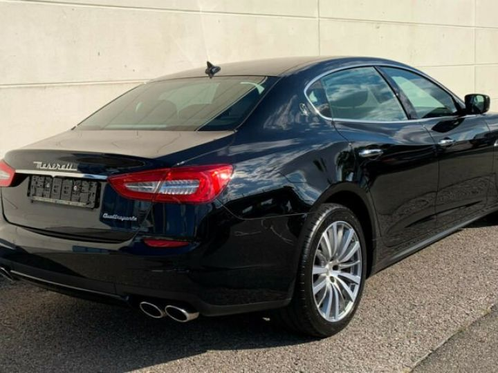 Maserati Quattroporte # Inclus Carte Grise, Malus écolo et livraison à votre domicile # Noir Peinture métallisée - 4
