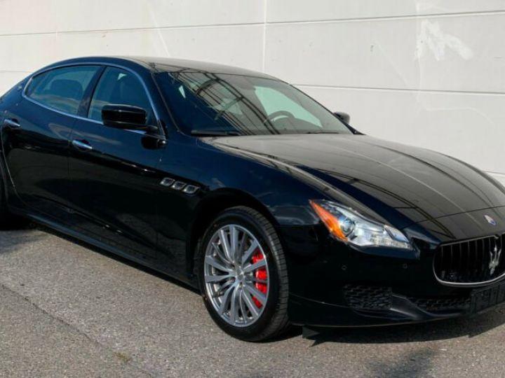 Maserati Quattroporte # Inclus Carte Grise, Malus écolo et livraison à votre domicile # Noir Peinture métallisée - 6