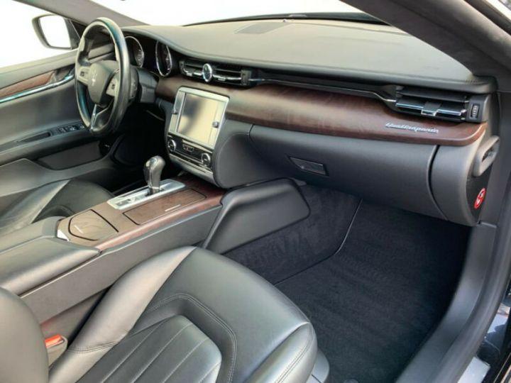 Maserati Quattroporte # Inclus Carte Grise, Malus écolo et livraison à votre domicile # Noir Peinture métallisée - 12