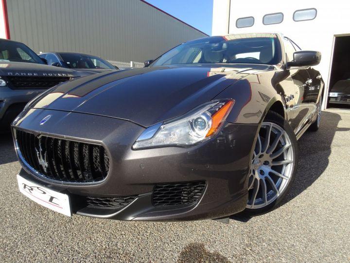 Maserati Quattroporte S Q4 410ps BVA / Jtes 20  PDC + Camera Echap sport  Bixenon  gris maratea met - 1