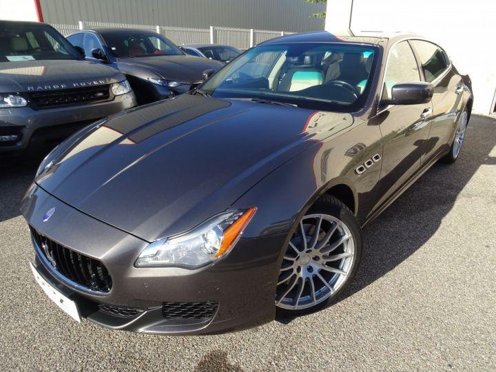 Maserati Quattroporte S Q4 410ps BVA / Jtes 20  PDC + Camera Echap sport  Bixenon  gris maratea met - 2