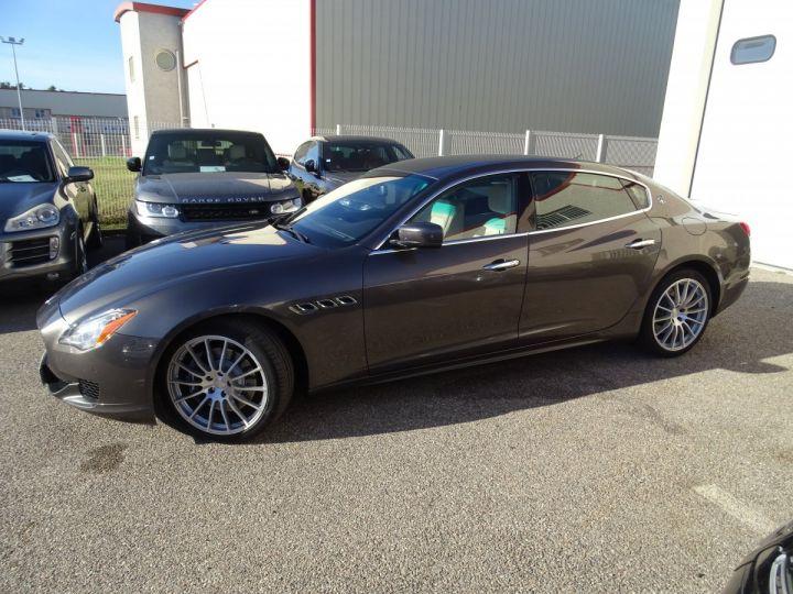 Maserati Quattroporte S Q4 410ps BVA / Jtes 20  PDC + Camera Echap sport  Bixenon  gris maratea met - 3