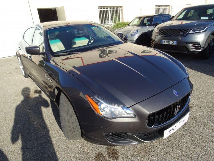 Maserati Quattroporte S Q4 410ps BVA / Jtes 20  PDC + Camera Echap sport  Bixenon  gris maratea met - 5